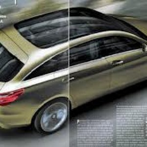 2014 mercedes CLA shooting brake concept