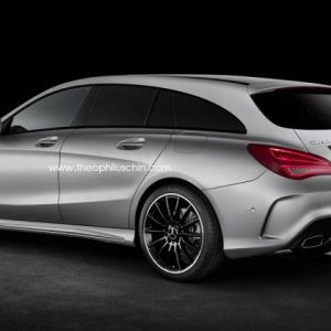 2014 mercedes CLA shooting brake